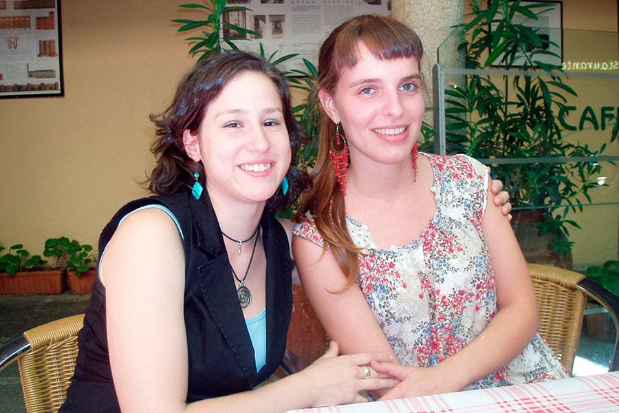 Blanca y Patricia