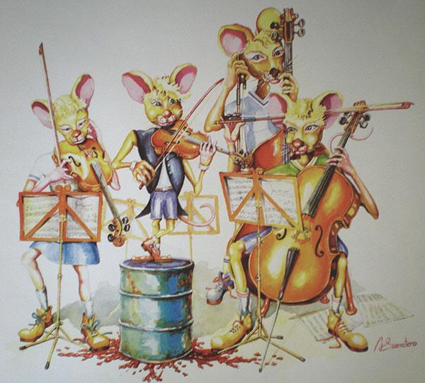 Orquesta de ratones (2001)