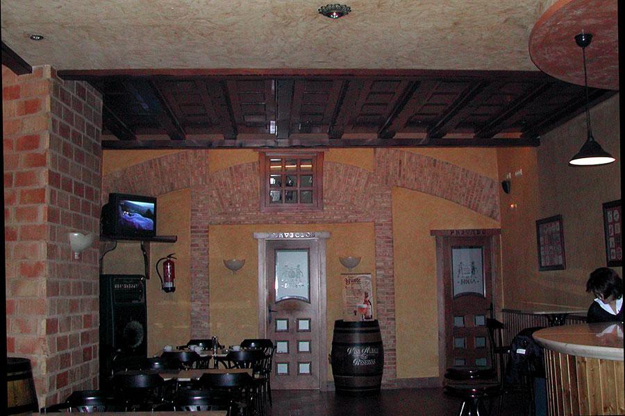 """Proyecto de adaptación de Bar """"Bodegón"""""""