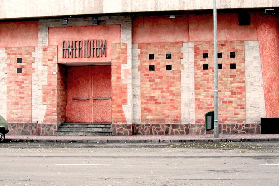 "Reforma de Discoteca ""Ameridium"""