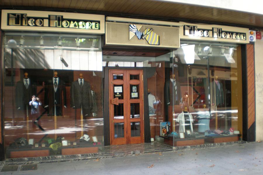 Proyecto tienda de ropa de caballero Nico Hombre